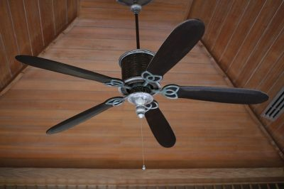 ceiling fan with downrod