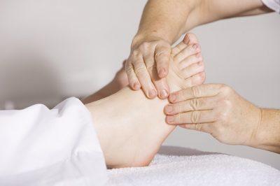 alleviating foot pain