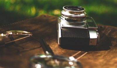 magnifying glass & photography