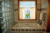 tiled bathroom